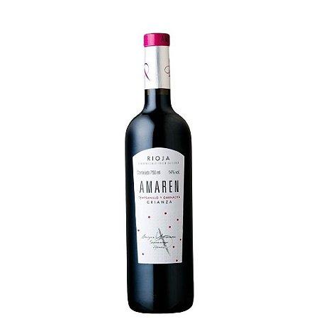 Vinho Amaren Tempranillo y Garnacha Crianza