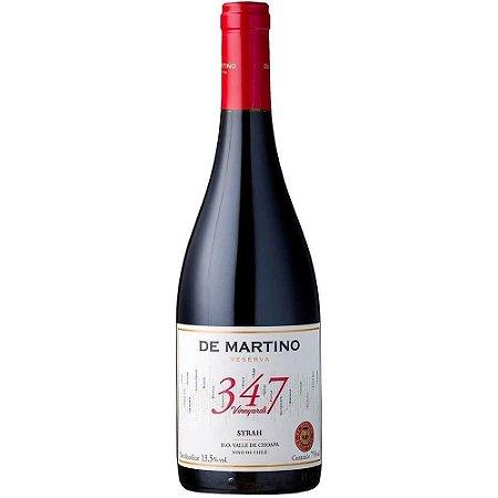 Vinho Syrah Reserva 347 Vineyards De Martino