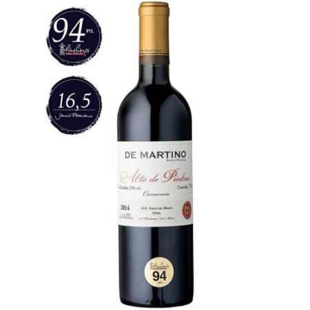 Vinho Carménère Alto de Piedra De Martino