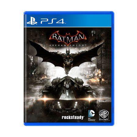 Jogo Batman Arkham Knight - PS4 (Capa Dura) Semi Novo