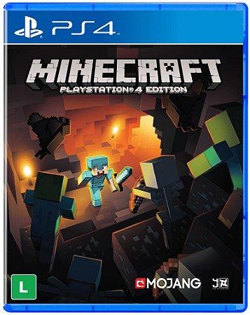 Jogo Minecraft Edition - PS4 (Capa Dura) Semi Novo