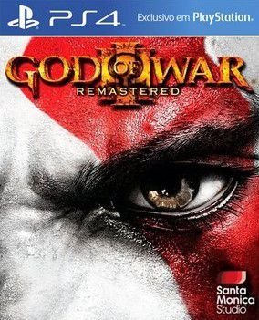 Jogo God of War 3 Remasterizado - PS4 (Capa Dura) Semi Novo