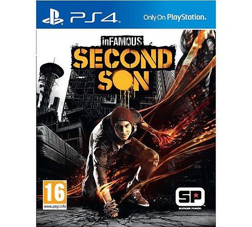 Jogo InFamous Second Son - PS4 (Capa Dura) Semi Novo