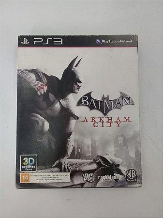 Jogo Batman Arkham City - PS3 (Capa Dura) Semi Novo