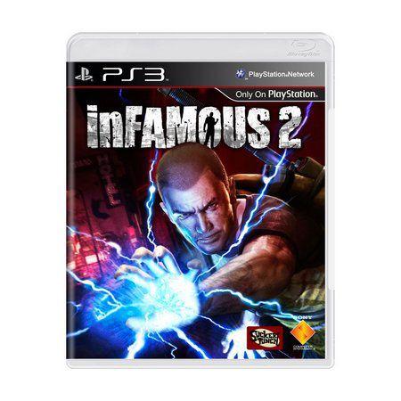 Jogo InFamous 2 - PS3 (Capa Dura) Semi Novo