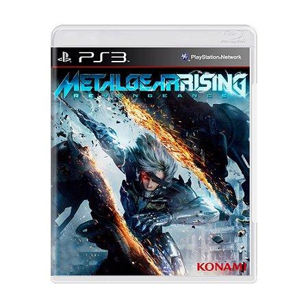 Jogo Metal Gear Rising: Revengeance - PS3 (Capa Dura) Semi Novo