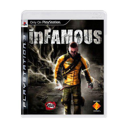 Jogo InFamous - PS3 (Capa Dura) Semi Novo