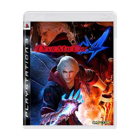 Jogo Devil May Cry 4 - PS3 (Capa Dura) Semi Novo