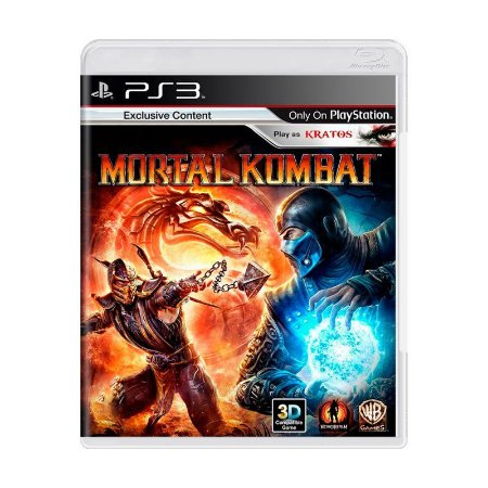Jogo Mortal Kombat - PS3 (Capa Dura) Semi Novo