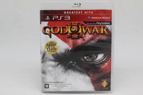 Jogo God of War - PS3 (Capa Dura) Semi Novo