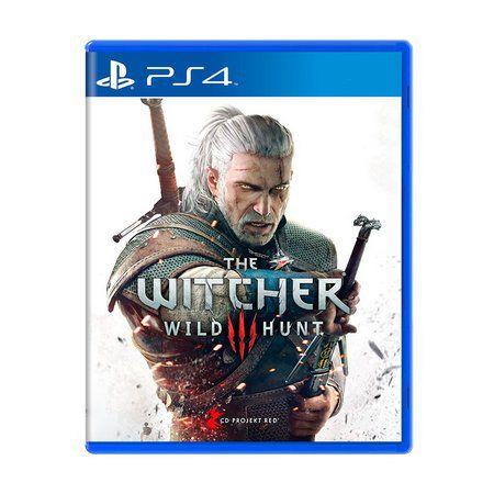 Jogo The Witcher 3: Wild Hunt + Trilha Sonora - PS4 (Capa Dura) Semi Novo