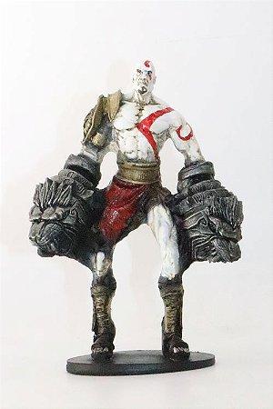 Kratos Action Figure em Resina