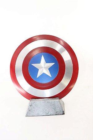 Escudo do Capitão América Action Figure em Resina