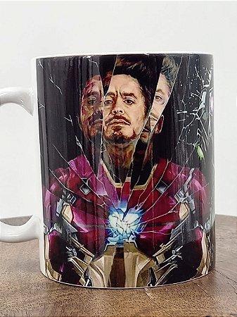 Caneca de Porcelana Tony Stark Personalizada