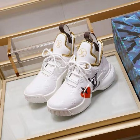 "Tênis Louis Vuitton Sneaker Archlight ""White"""
