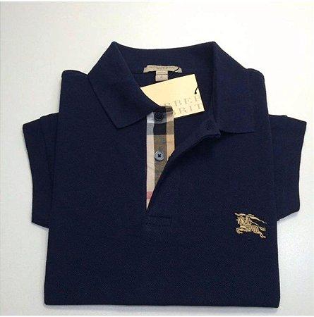 "Camisa Polo Burberry ""Dark Blue"""