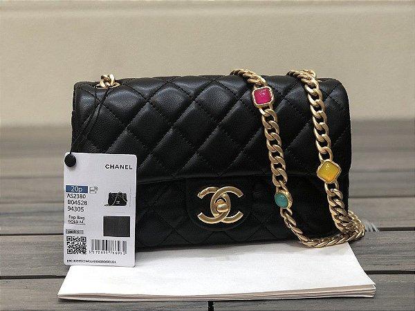 """Bolsa Chanel Single Flap """"Black"""""""