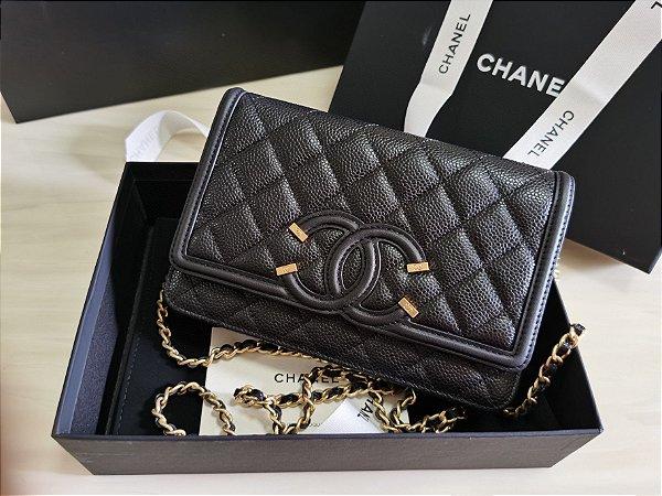 "Carteira Chanel ""Black"""