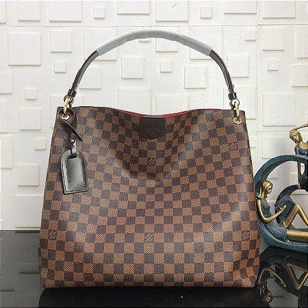 "Bolsa Louis Vuitton Gracefull ""Brown"""