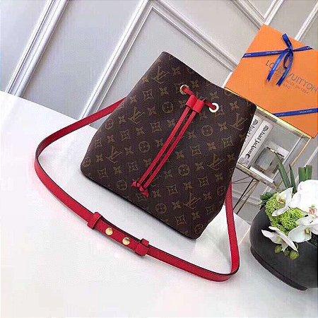 "Bolsa Louis Vuitton NéoNoé ""Red"""