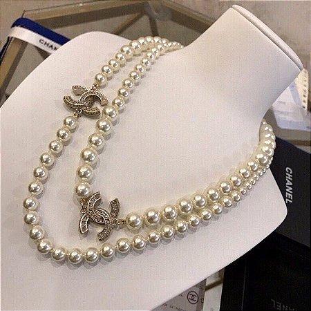 "Colar Chanel ""Pearl"""