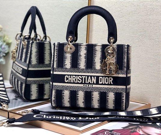 """Bolsa Dior Lady """"Dark Blue"""""""
