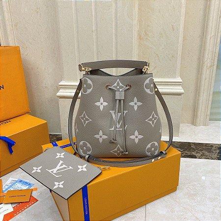 """Bolsa Louis Vuitton NéoNoé """"Gray"""""""