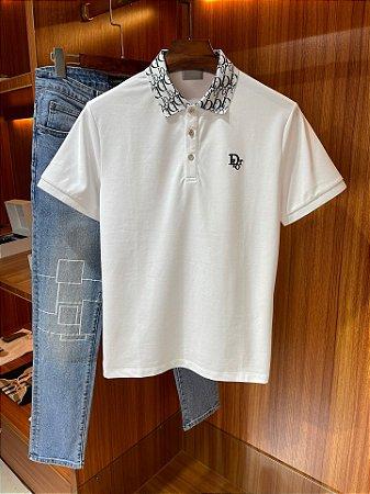 "Camisa Polo Dior ""White"""
