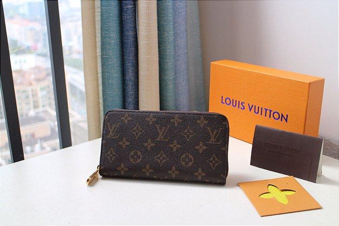 """Carteira Louis Vuitton Monogram """"Brown"""""""