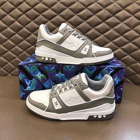 "Tênis Louis Vuitton Trainer Sneaker ""Gray"""