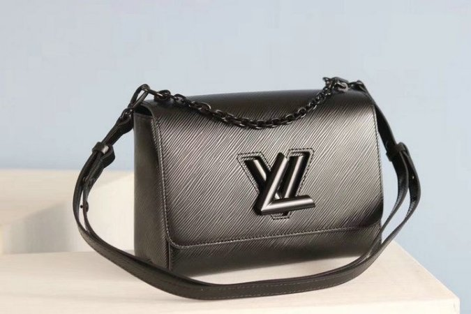"Bolsa Louis Vuitton Twist ""Black"""