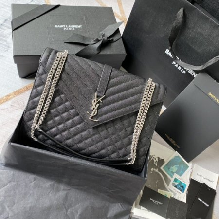 "Bolsa Saint Laurent Envelope ""Black"""