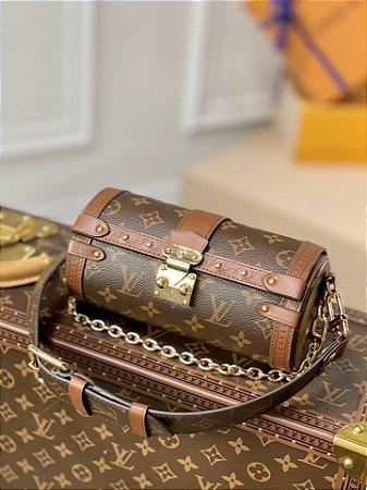 "Bolsa Louis Vuitton Papillon Trunk Monogram ""Brown"""