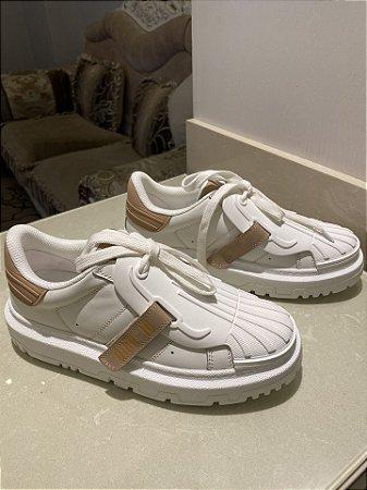 """Tênis Sneaker Dior-ID """"Nude"""""""