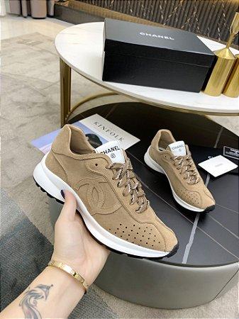"""Tênis Chanel Sneaker """"Brown"""""""