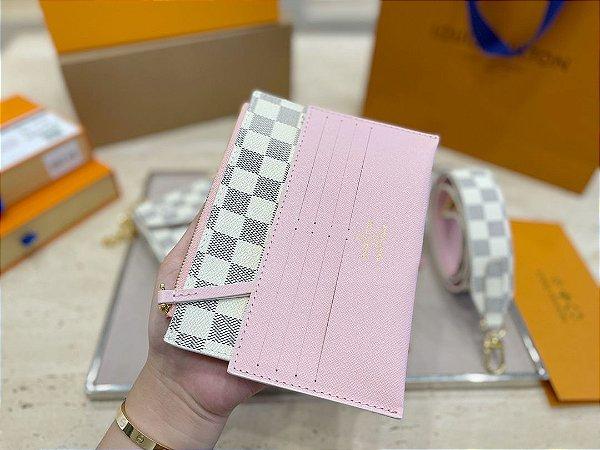 "Card Case Louis Vuitton ""Rose"""