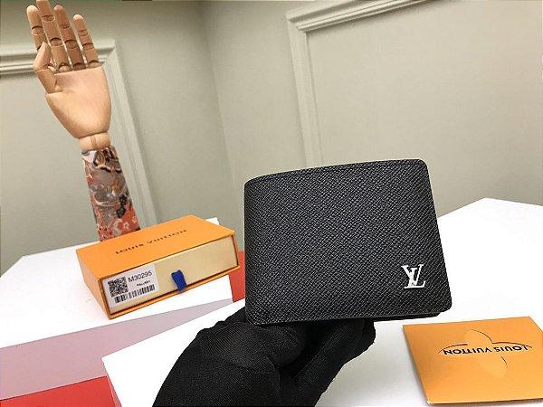 """Carteira Louis Vuitton Multiple Taiga """"Noir"""" (PRONTA ENTREGA)"""