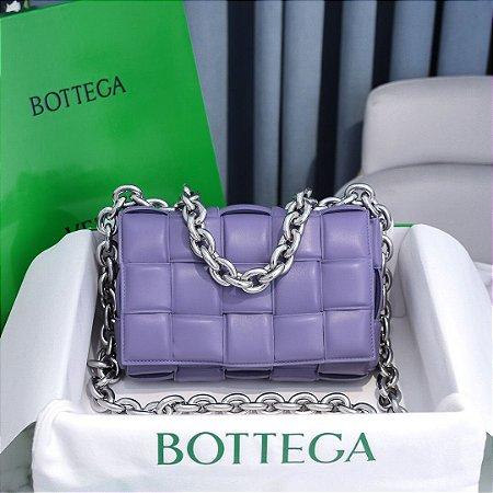 "Bolsa Bottega Veneta The Chain Cassette ""Lavender"""