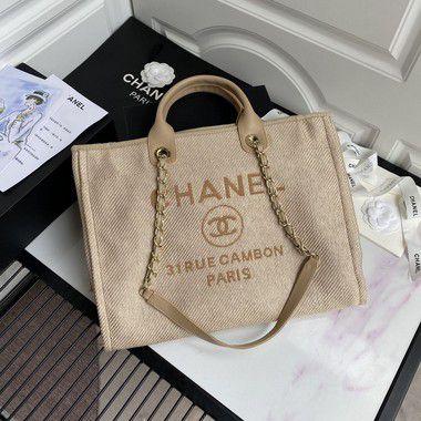 """Bolsa Chanel Tote Bag """"Sand"""""""