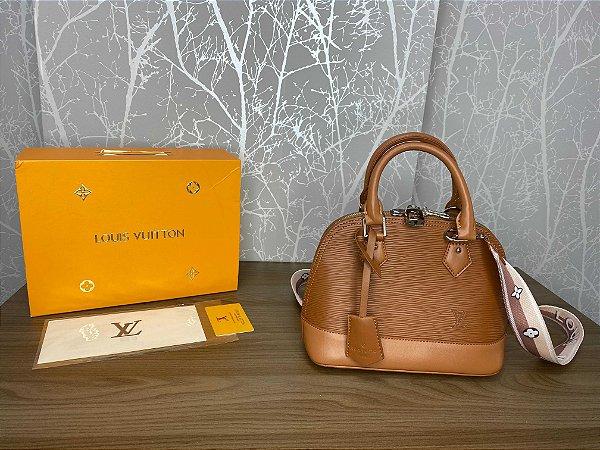 """Bolsa Louis Vuitton Alma BB """"Gold Miel"""" (PRONTA ENTREGA)"""