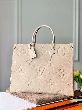 "Bolsa Louis Vuitton OnTheGo ""Beige"""
