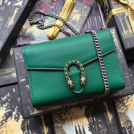 "Bolsa Gucci Dionysus Mini ""Emerald"""