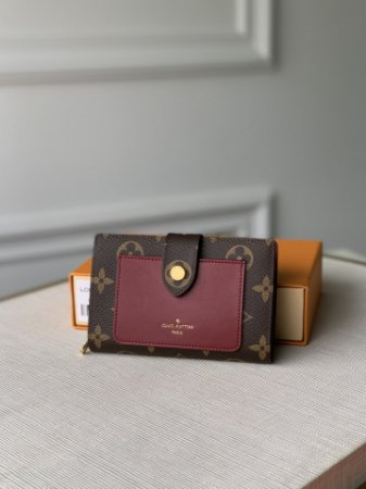 "Carteira Louis Vuitton Juliette Monogram ""Red"""