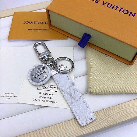 """Chaveiro Louis Vuitton """"White"""""""