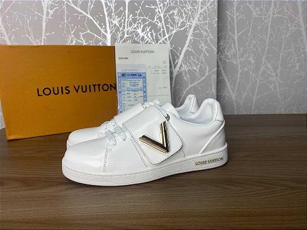 """Tênis Louis Vuitton Frontrow Twist """"White"""" (PRONTA ENTREGA)"""