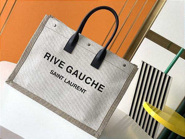 "Bolsa Saint Laurent Rive Gauche Tote Bag ""Beige"""