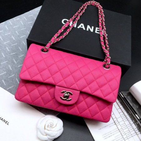 "Bolsa Chanel Double Flap ""Pink"""