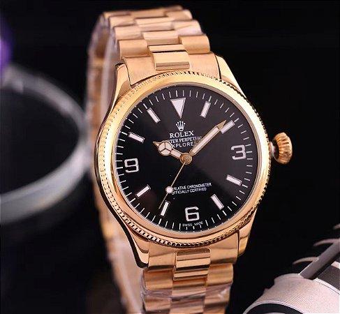 "Relógio Rolex Oyster Perpetual Explorer ""Gold"""
