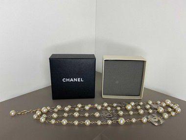"Colar Chanel C ""Pearl"""