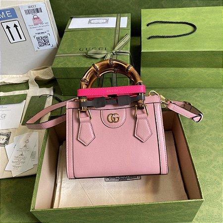"Bolsa Gucci Diana Tote Bag ""Pastel Pink"""